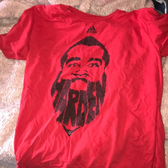 low priced a2df6 d3277 James Harden Houston Rockets Adidas T-shirt